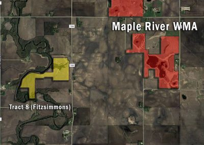 Maple River Wildlife Management Area – Fitzsimmon (Tract 8)
